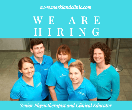 Senior Physiotherapist and Clinical Educator