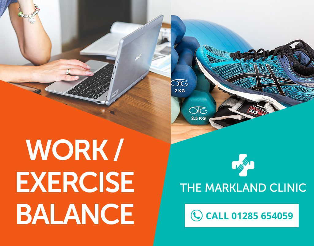 The Work Exercise Balance for Life