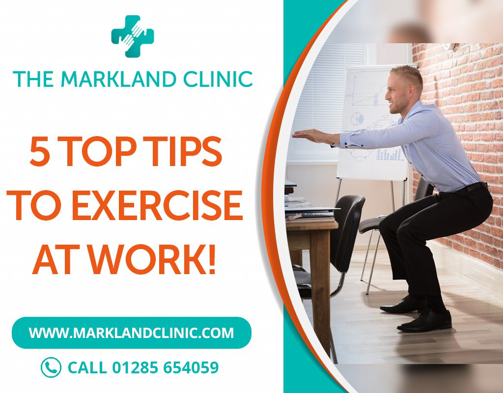 Top tips for Work Exercise Balance